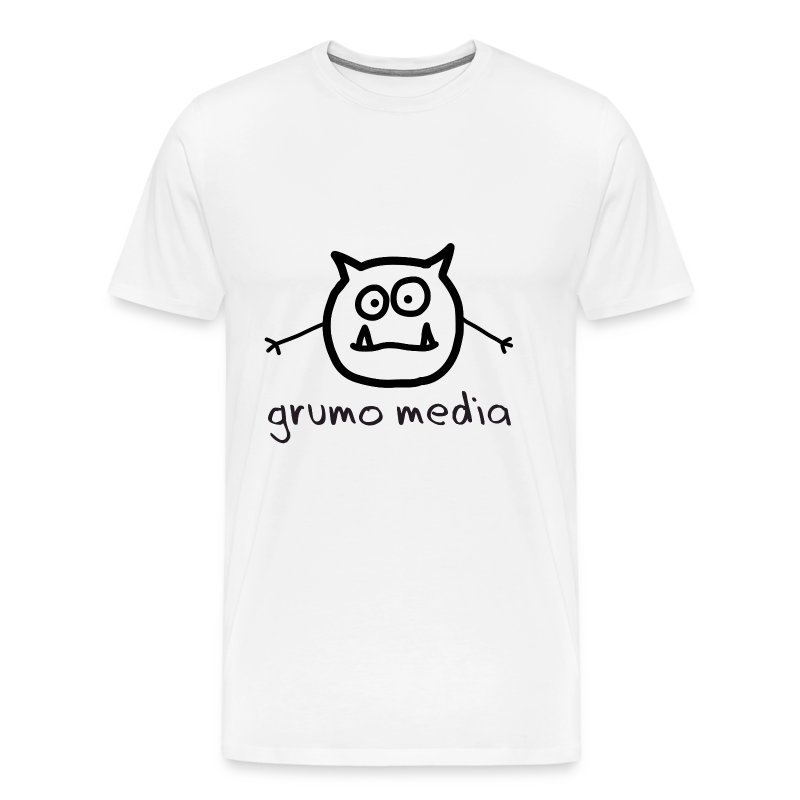 Grumo Media - Plain Men - Men's Premium T-Shirt