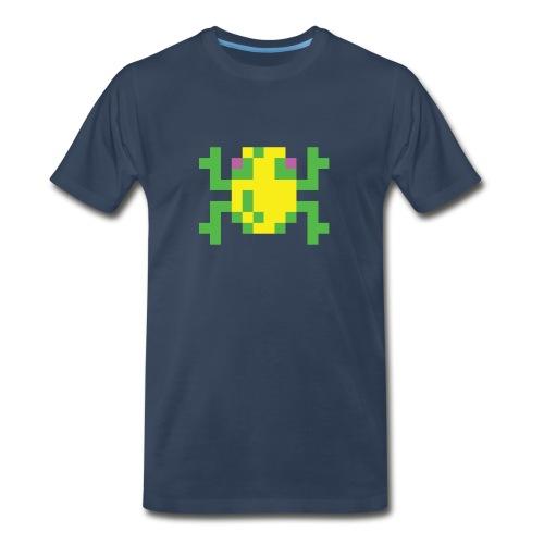 Frogger Front - Men's Premium T-Shirt