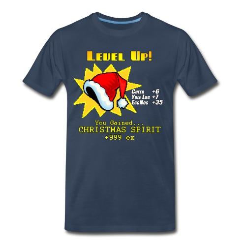 Level Up: Christmas 3X - Men's Premium T-Shirt