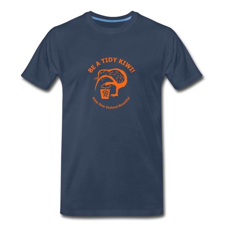 Be a Tidy Kiwi - Men's Premium T-Shirt