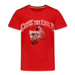 Chicago Eddie Eagle Toddler T-Shirt - Toddler Premium T-Shirt