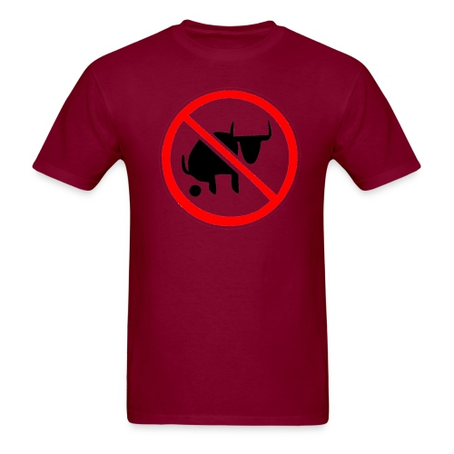 NO B S - Men's T-Shirt