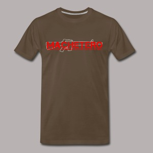 MACHETERO M16 BROWN MENS XXXL - Men's Premium T-Shirt