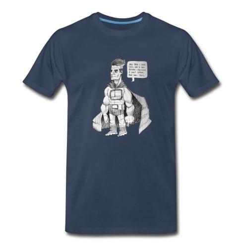 Heroman Reflects - Men's Premium T-Shirt