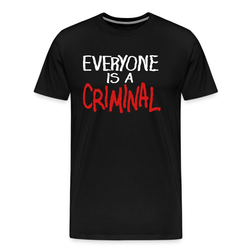 Criminal - Men's Premium T-Shirt
