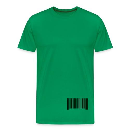 Barcode - Men's Premium T-Shirt