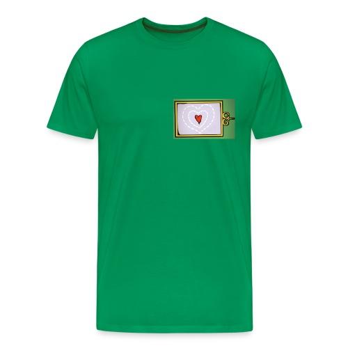 Heart warming necessary - Men's Premium T-Shirt