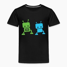 2 baby robots Toddler Shirts
