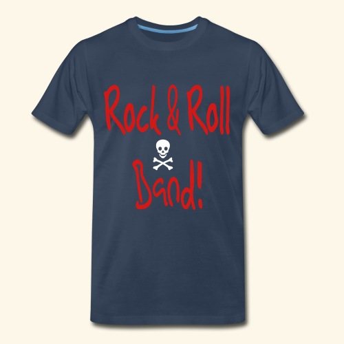 Rock and Roll Band - Men's Premium T-Shirt