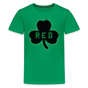 Red Shamrock Children's T-Shirt - Kids' Premium T-Shirt