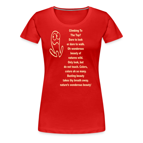 NATURES WONDEROUS BEAUTY - Women's Premium T-Shirt
