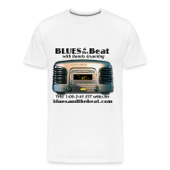 T-Shirts ~ Men's Premium T-Shirt ~ Blues & the Beat 3XL t-shirt (white)