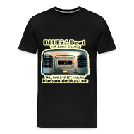 T-Shirts ~ Men's Premium T-Shirt ~ Blues & the Beat 3XL t-shirt (black)