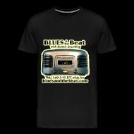 T-Shirts ~ Men's Premium T-Shirt ~ Blues & the Beat 3XL t-shirt (black)