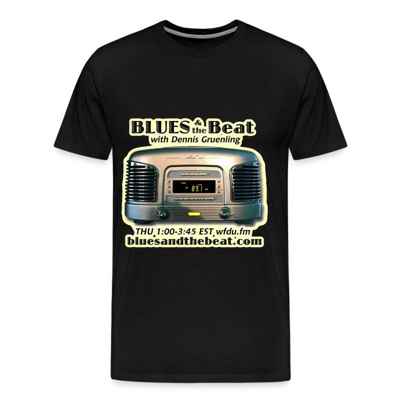Blues & the Beat 3XL t-shirt (black) - Men's Premium T-Shirt