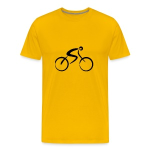 Bicycle black - Men's Premium T-Shirt