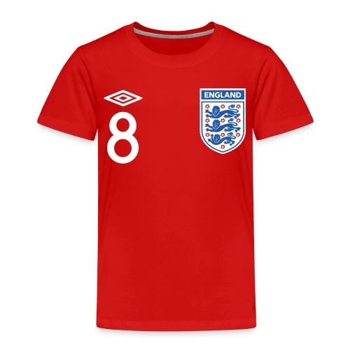 Toddler's Lampard England Kit - Toddler Premium T-Shirt