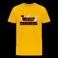 T-Shirts ~ Men's Premium T-Shirt ~ THE WESLEY CRUSHERS T-Shirt - BIG BANG Shirt