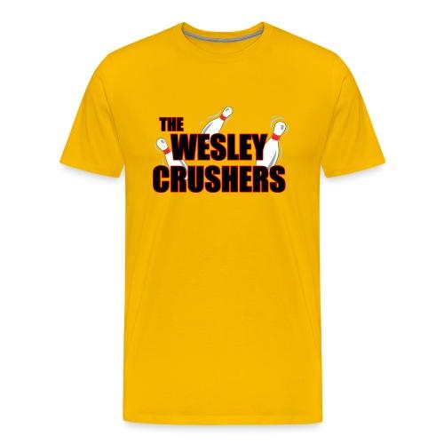 THE WESLEY CRUSHERS T-Shirt - BIG BANG Shirt - Men's Premium T-Shirt