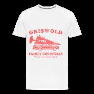 T-Shirts ~ Men's Premium T-Shirt ~ Griswold Family Christmas of 1989 T-Shirt