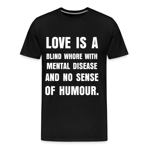 Love... (men) - Men's Premium T-Shirt