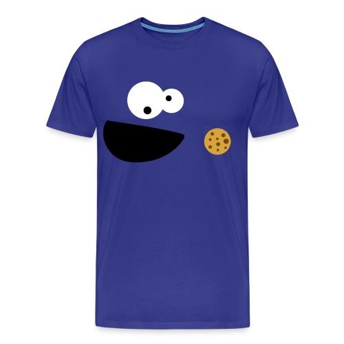 Cookie Monster - Male - Men's Premium T-Shirt