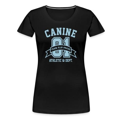 Canine Athletic Dept. - Women's Premium T-Shirt