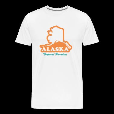 Alaska - Tropical Paradise T-shirt