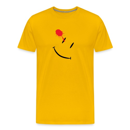 Watchmen Smiley - Men's Premium T-Shirt