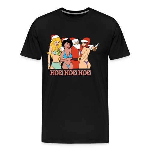 HOE! HOE! HOE! (Men) - Men's Premium T-Shirt