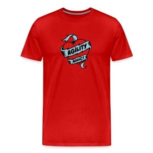 Dog Agility Addict - Men's Premium T-Shirt