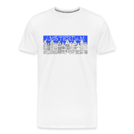 T-Shirts ~ Men's Premium T-Shirt ~ Amsterdam Canal Houses Male Regular Fit