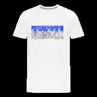 T-Shirts ~ Men's Premium T-Shirt ~ Amsterdam Canal Houses Male Regular Fit