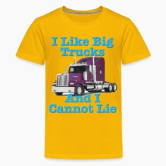 I Like Big Trucks & I Cannot Lie Western Star Kids' Shirts