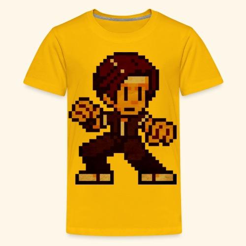 Pixelfighter KempoGuy (Vintageprint) - Kids' Premium T-Shirt
