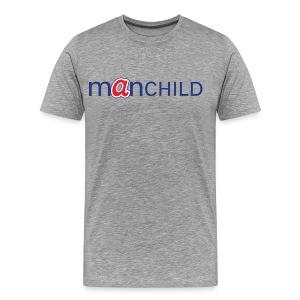 Manchild - Braves - Men's Premium T-Shirt