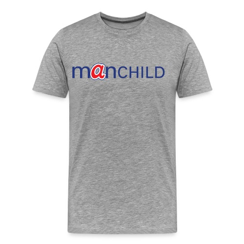 Manchild - Braves - Men's Premium T-Shirt