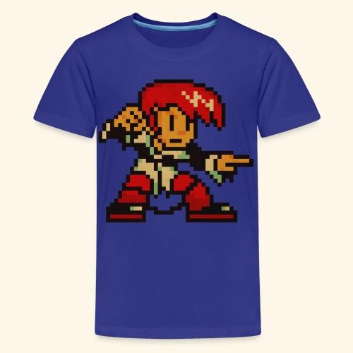 Pixelfighter Demonblood (Vintageprint) - Kids' Premium T-Shirt