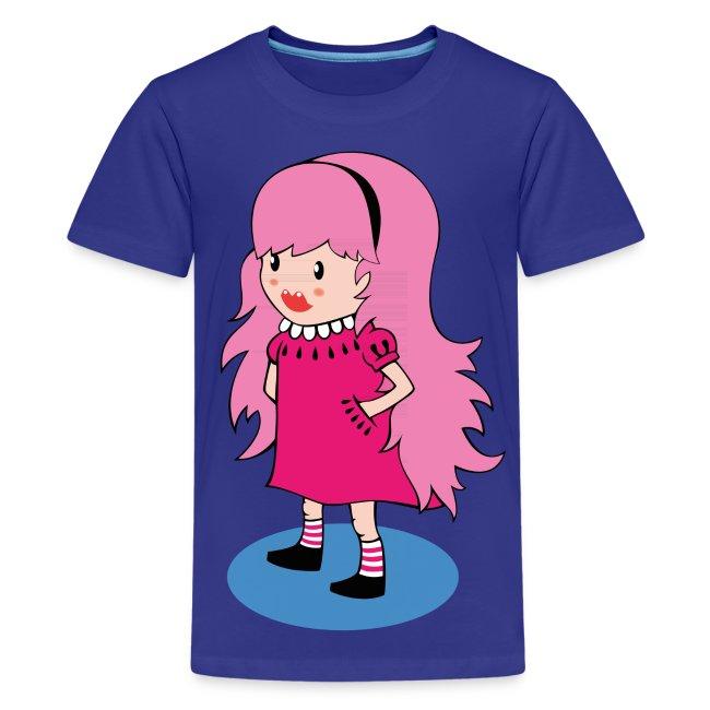 Kawaii Girl Kids T-Shirt