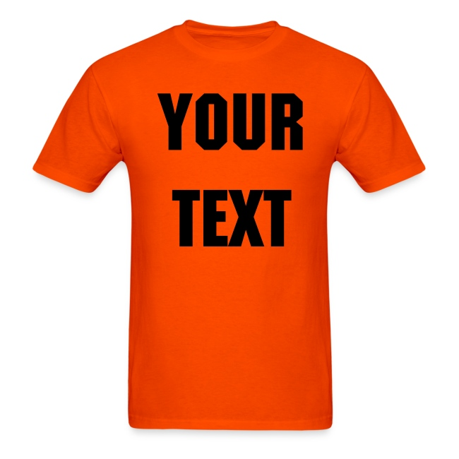 design your own event staff t shirt