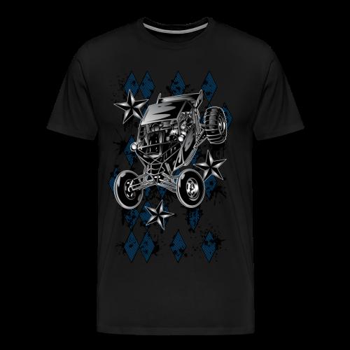 Checker Board Buggy - Men's Premium T-Shirt