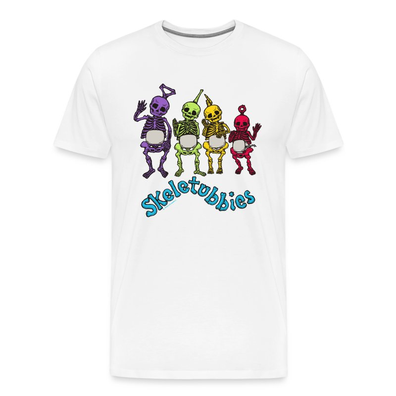 skeletubbies - Men's Premium T-Shirt