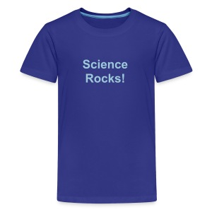 Science Rocks - Kids' Premium T-Shirt