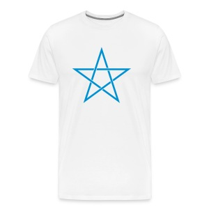 Pentagram Star - Men's Premium T-Shirt