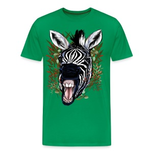 The Laughing Zebra - Men's Premium T-Shirt