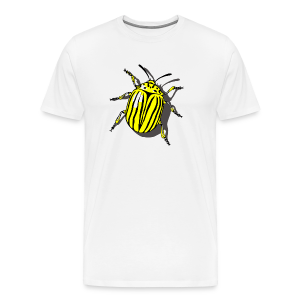 Bug T-Shirts Colorado Beetle - Men's Premium T-Shirt