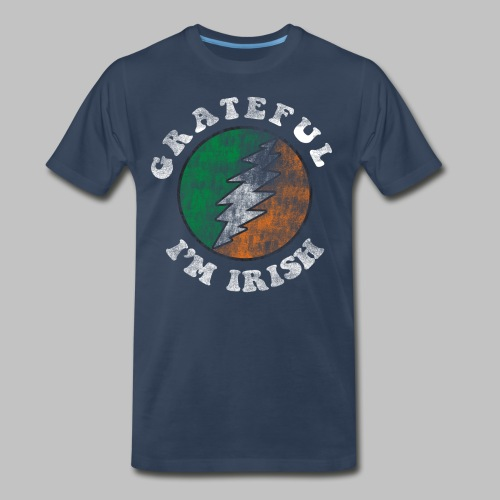 Grateful Irish Men's 3XL XXXL T-Shirt - Men's Premium T-Shirt