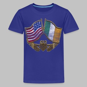 USA Ireland Friendship Children's T-Shirt - Kids' Premium T-Shirt