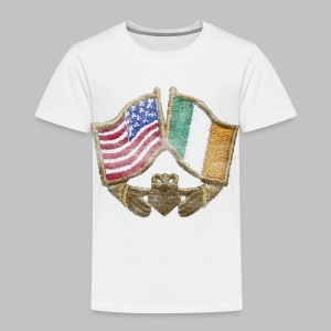 USA Ireland Friendship Toddler T-Shirt - Toddler Premium T-Shirt