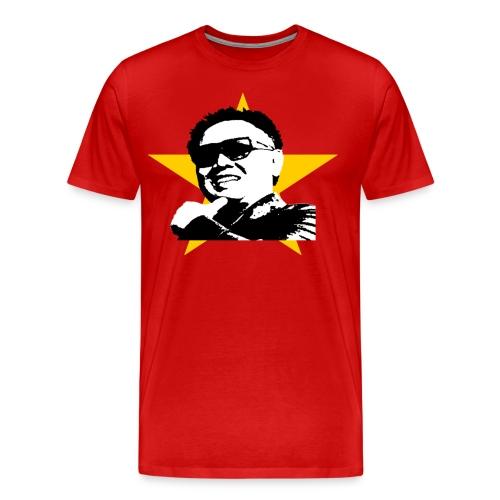Glorious Kim Jung Il shirt, Men ($5.00 off!)* - Men's Premium T-Shirt